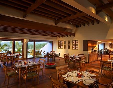 Terrace Restaurant - The Raviz Kovalam