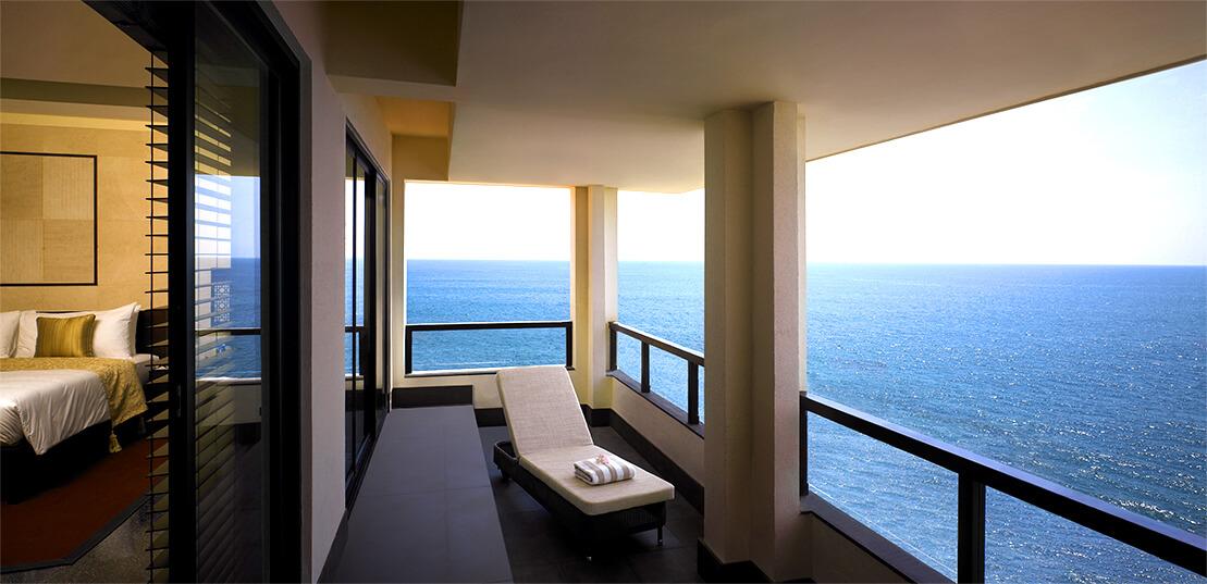 Sea View Balcony - The Raviz Kovalam