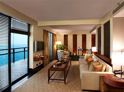 Luxury Bedroom Interior - The Raviz Kovalam
