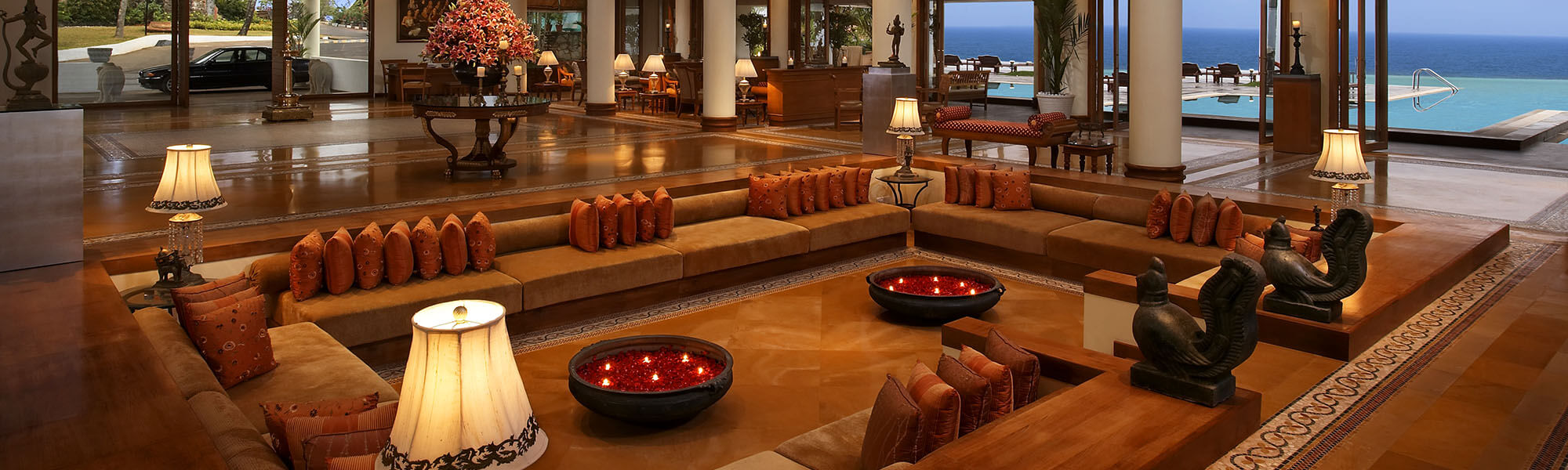 Living Area - The Raviz Kovalam