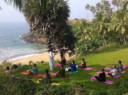 Yoga Area - The Raviz Kovalam