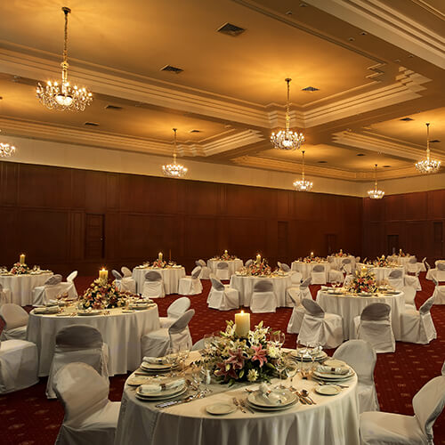 Ballroom - The Raviz Kovalam