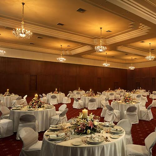 Ballroom - The Raviz Kovalam