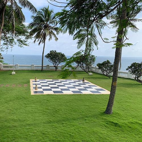 Chess Park - The Raviz Kovalam