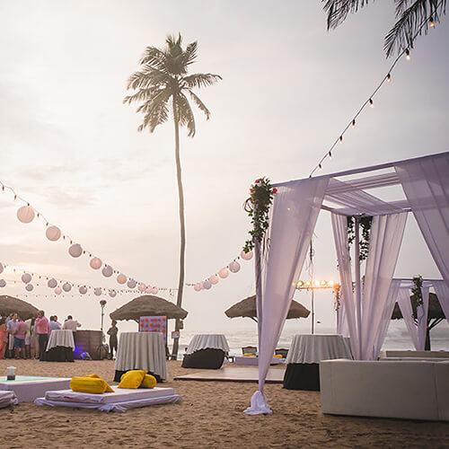 Beach Weddings - The Raviz Kovalam