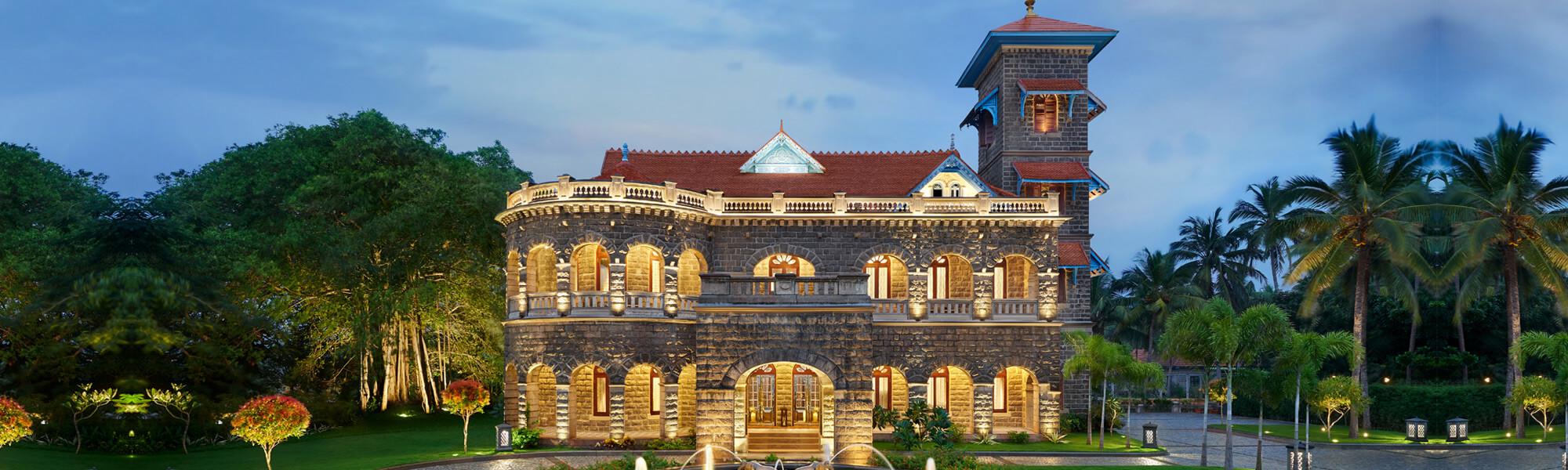 Kovalam Palace - Outside View