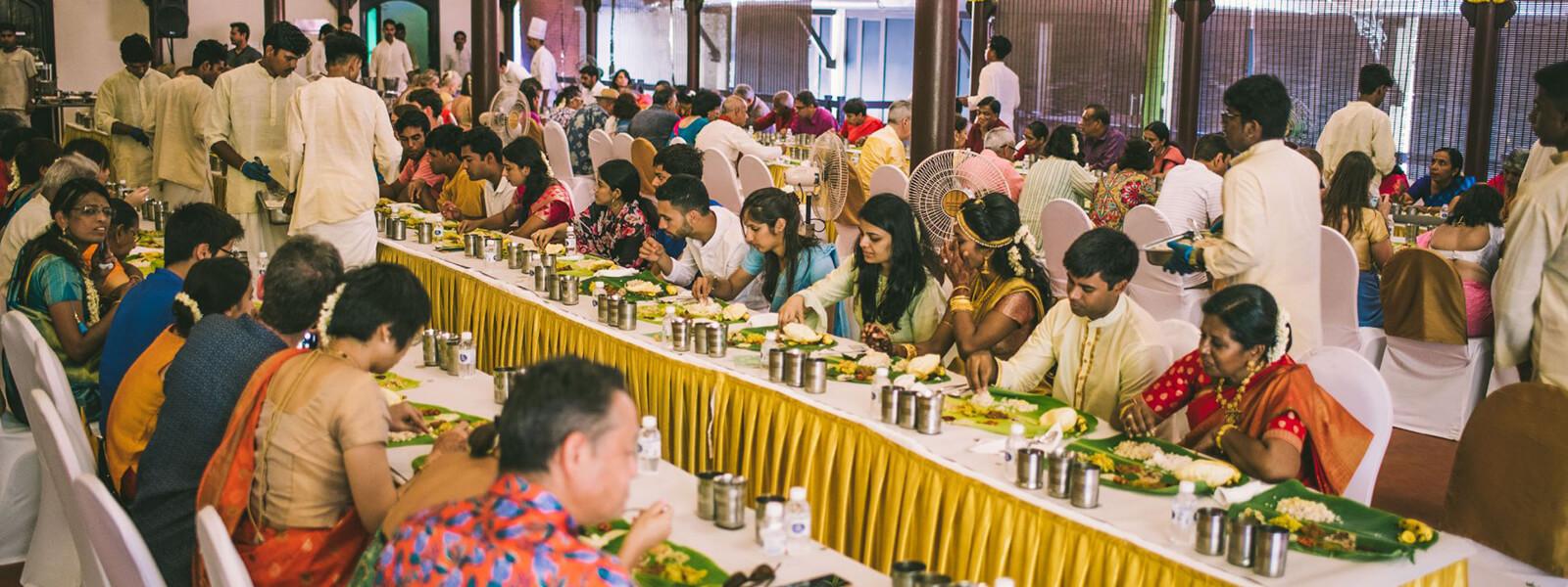 Wedding Food Court - The Raviz Kovalam