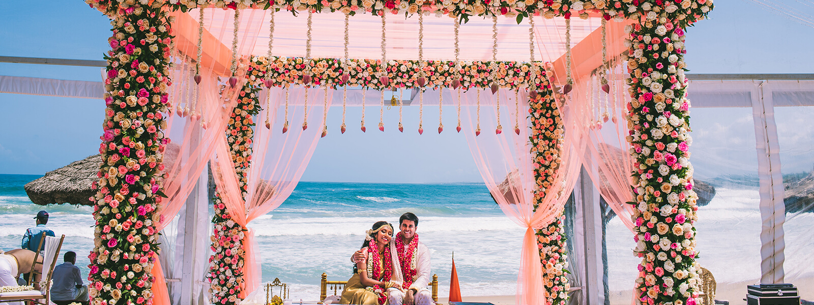 Beach Wedding Destinations - The Raviz Kovalam